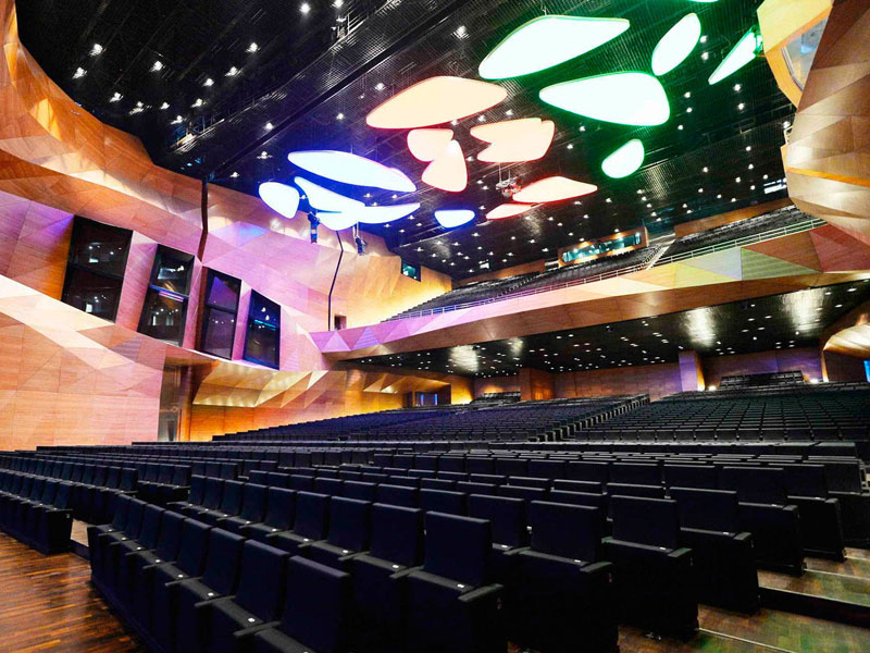 Gala Systems | Stage Systems solution for Multipurpose Halls