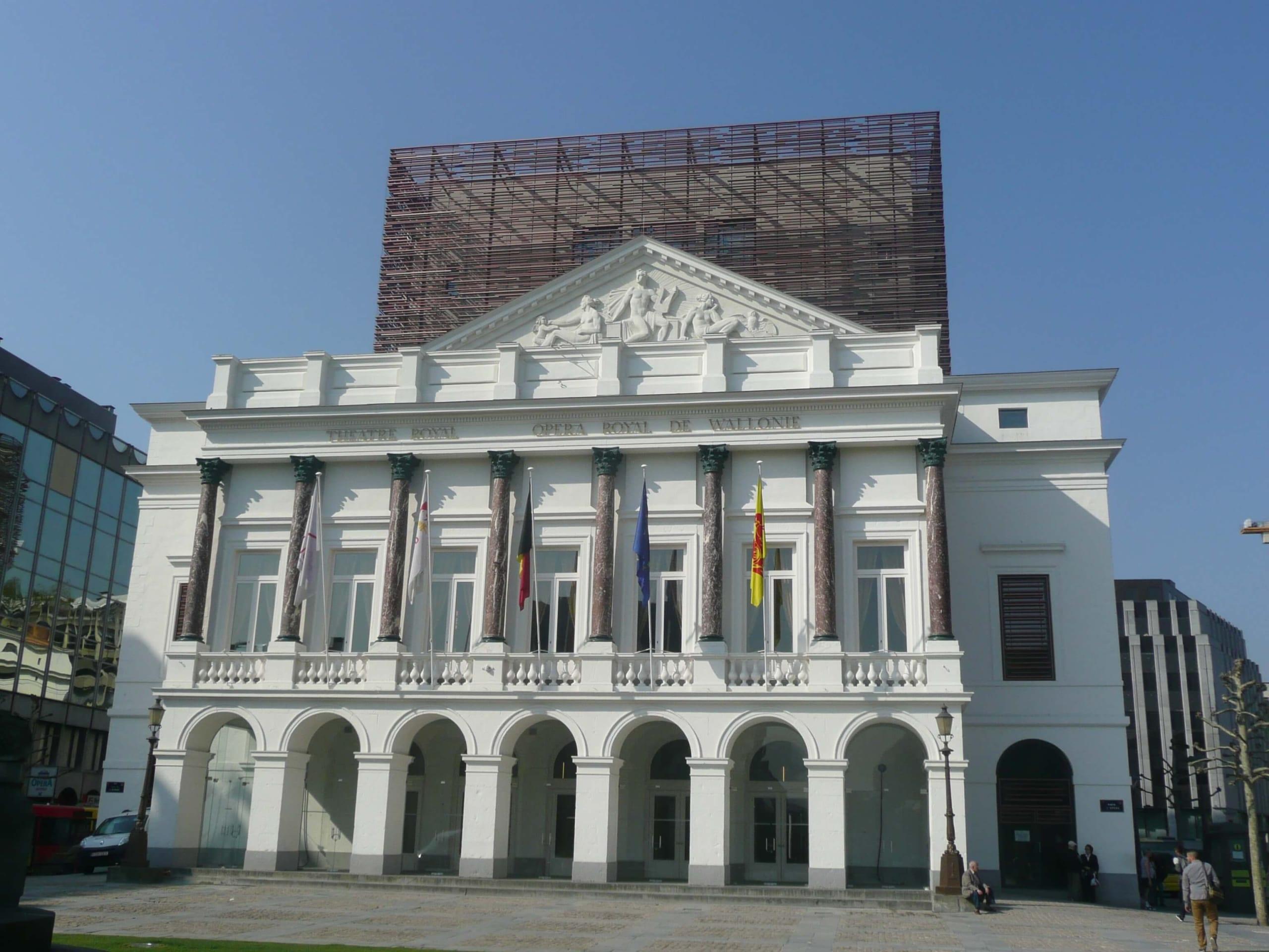 Spiralift at Théâtre Royal de Liège